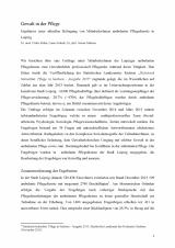 Gewalt in der Pflege, Ergebnisse einer Befragung von MitarbeiterInnen ambulanter Pflegedienste in Leipzig. Download hier.
